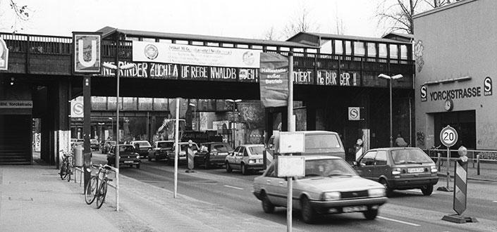 The Yorckbrücken on January 17, 1993