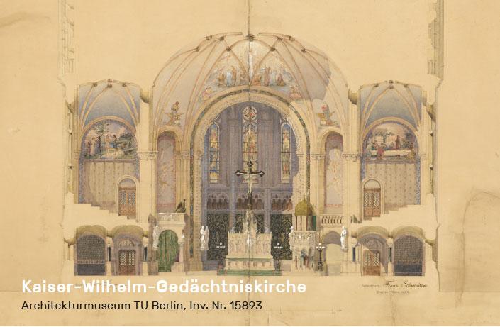 Kaiser-Wilhelm-Gedächtniskirche, Franz Schwechten