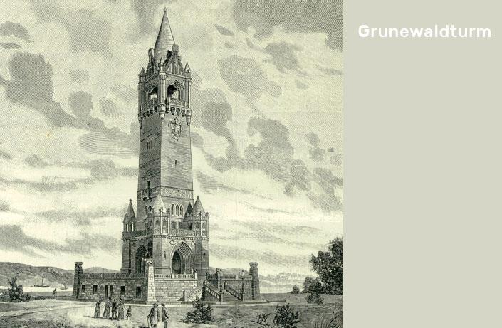 Grunewaldtturm, Franz Schwechten