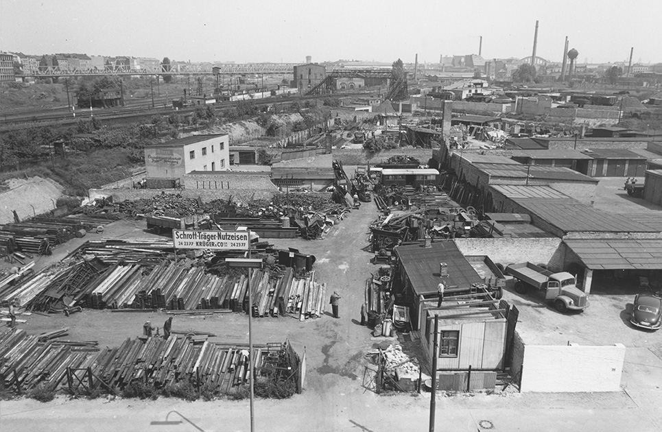 Yorckbrücken Nachkriegszeit